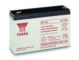Аккумулятор YUASA NP 12-6 ( 6V 12Ah / 6В 12Ач ) - фотография