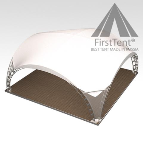 Арочный шатер 8х8 «Дюна»