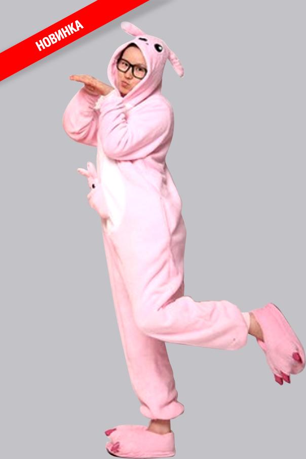 Пижамы кигуруми Розовый Кенгуру розовый_кенгуру.jpg
