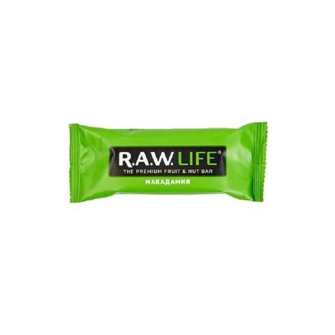 R.A.W Life орехово-фруктовый батончик Макадамия 47 гр
