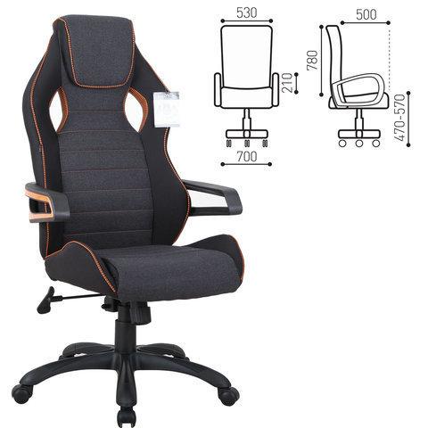 GM-003 Кресло компьютерное Techno Pro (BRABIX)