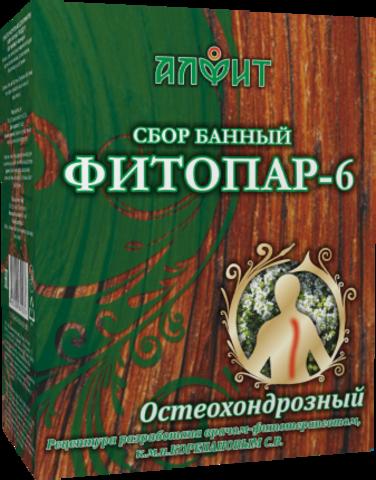 АЛФИТ сбор банный ФИТОПАР-6 Остеохондрозный