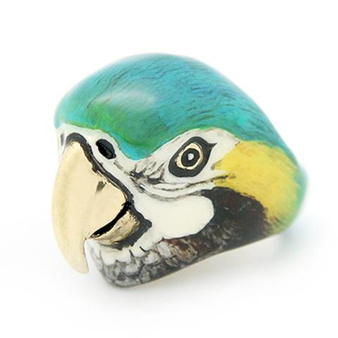 Кольцо Попугай Ара