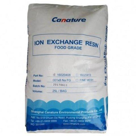 Смола ионообменная Canature Resin NaFG (25L/Bag)