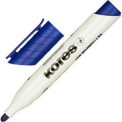 Маркер для досок KORES синий 3 мм круглый наконечник ?20833