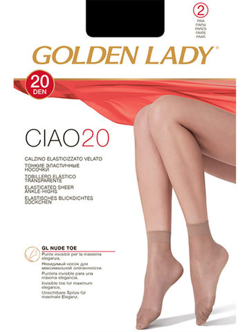 Носки Ciao 20 (2 пары) Golden Lady
