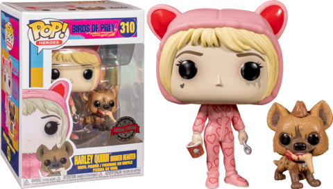 Birds of Prey. Harley Quinn Broken Hearted Special Edition Funko Pop! || Хищные Птицы. Харли Квинн