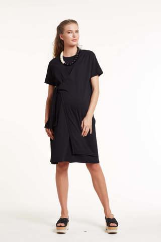 Платье для беременных 11452 черный