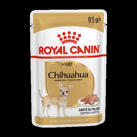 Royal Canin Chihuahua Adult Консервы для взрослых собак породы чихуахуа (Пауч)