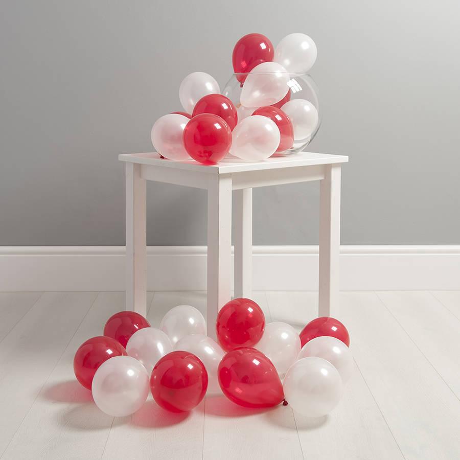 Шарики на пол Красно-Белые шары на пол mini-na-pol-30-shtuk-Komplekt-6.jpg