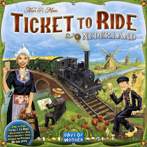 Ticket to Ride: Nederland - Multilingual