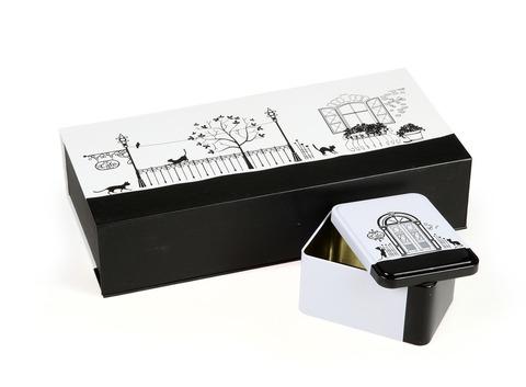Подарочная коробка на 2 банки