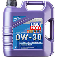 7511 LiquiMoly Синт.мот.масло Synthoil Longtime 0W-30 SM/CF;A3/B4(4л)