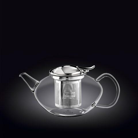 Заварочный чайник с ситечком Wilmax Thermo Glass 650 мл (WL-888804)