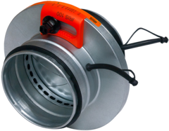Ирисовый клапан Airone IRIS 800 для измерения и регулировки потока воздуха в вентиляционных каналах