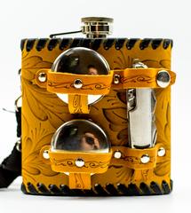 Фляга, набор походный из 4 предметов, 500 мл, фото 4