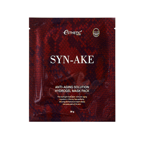 Гидрогел. маска д/лица SYN-AKE ANTI-AGING SOLUTION HYDROGEL MASK PACK, 1шт