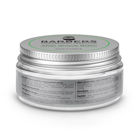 Бальзам после бритья с конопляным маслом Barbers Cannabis 100 мл (3)