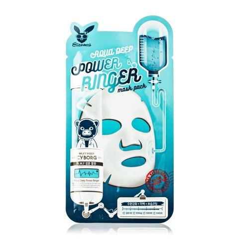 Тканевая маска Elizavecca Aqua Deep Power Ringer Mask  1шт.