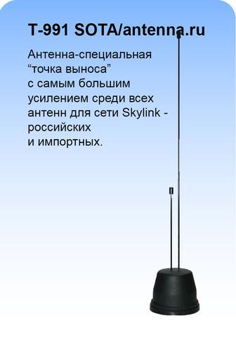 Антенна LTE 450 МГц круговая на магните с большим усилением