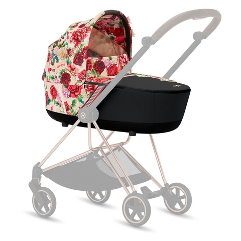 Cybex Mios Lux Carrycot Spring Blossom