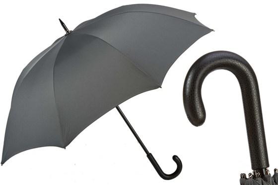 Зонт-трость Pasotti  Luxury Black Gent's , Италия
