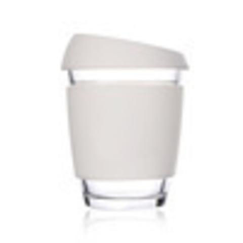 Кружка Coffee Cup из боросиликатного стекла 340 мл. белый