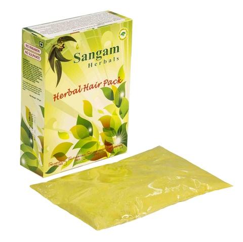 Травяная маска для волос Сангам Хербалс, 100 г (Индия)