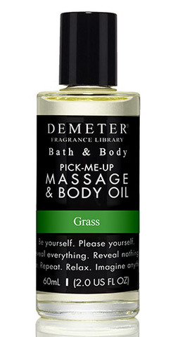 Масло для массажа «Трава» от Demeter