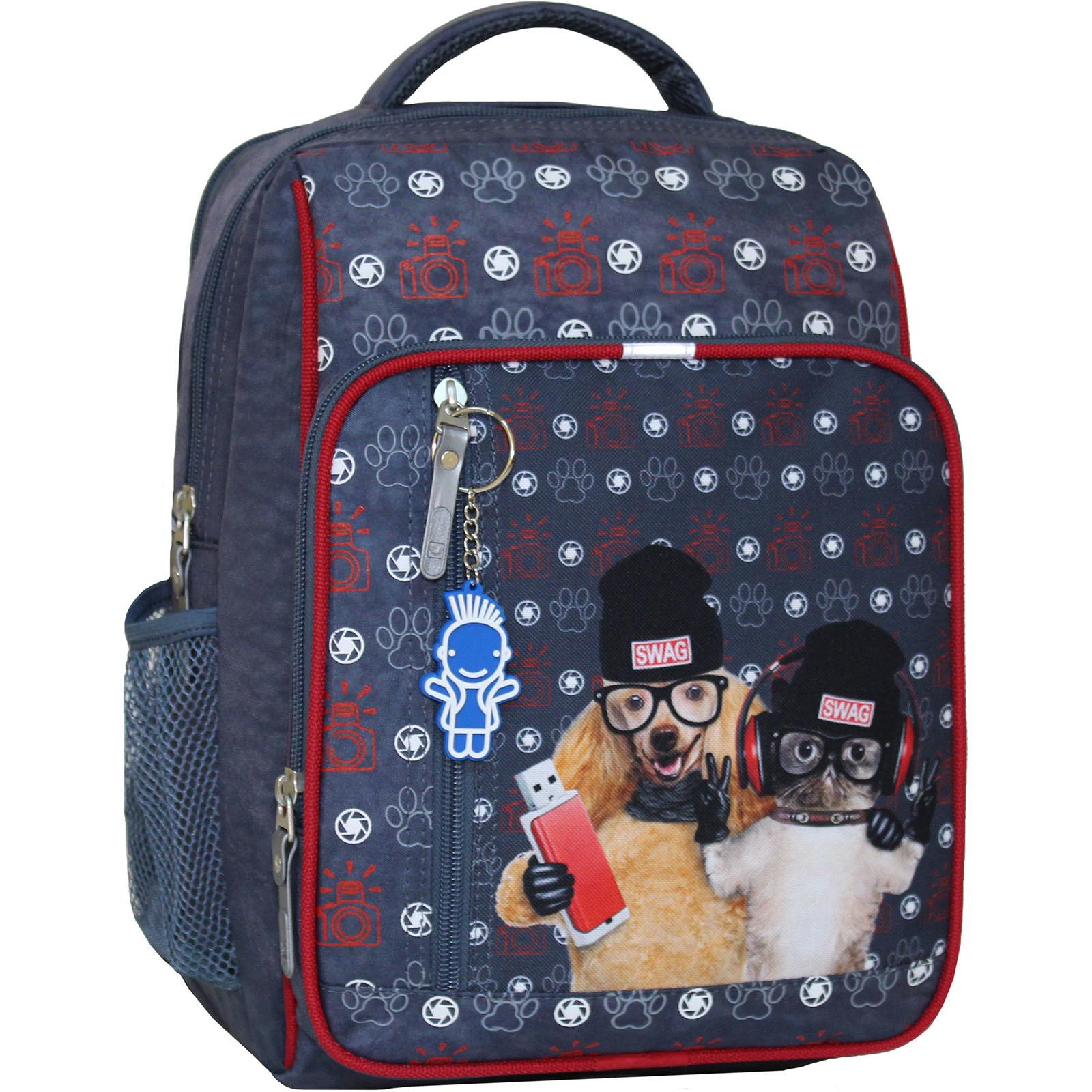Школьные рюкзаки Рюкзак школьный Bagland Школьник 8 л. серый 188к (0012870) IMG_6531_188К_.JPG