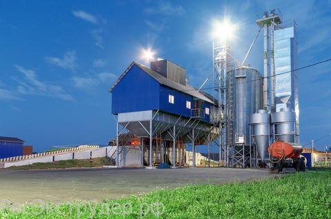 Освещение сельскохозяйственных предприятий