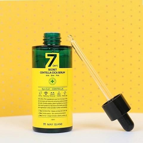 MAY ISLAND 7Days Сыворотка для лица 7days secret centella cica serum 50 мл