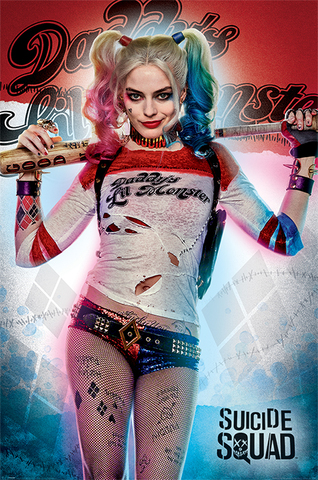 Постер Maxi Pyramid: DC: Suicide Squad (Daddy's Lil Monster)