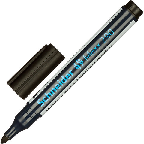 Маркер для досок и флипчарт SCHNEIDER S290 чёрный