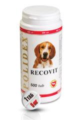 """POLIDEX """"Рековит"""" усиленный комплекс минералов и витаминов для щенков и собак мелких и средних пород"""