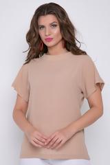 <p><span>Стильная блузка для очаровательной миледи. Рукав кимоно.</span></p> <p>&nbsp;</p> <p>(Длины: 44-60см; 46-61см; 48-62см; 50-63см;52-64см)</p>
