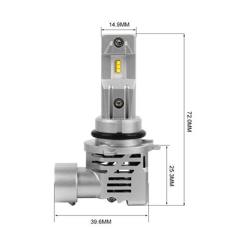 Комплект светодиодных ламп 9006 HB4 M3, 25W, 2500Lm, 2 шт