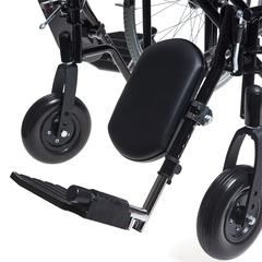 Кресло-коляска широкая H002 Armed 22 дюйма