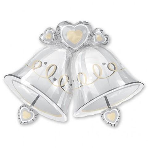 Фольгированный шар Свадебные колокола
