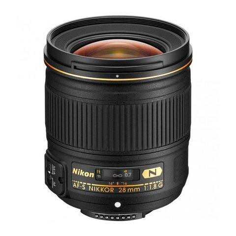 Объектив Nikon AF-S 28mm f/1.8G для Nikon