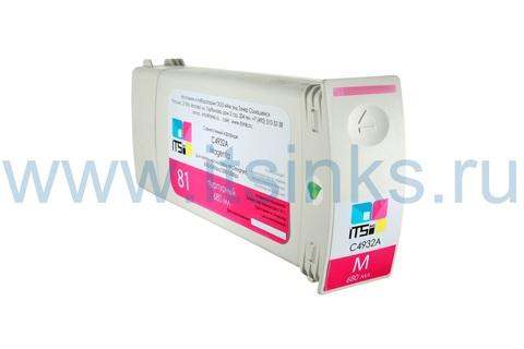 Картридж для HP 761 (CM993A) Magenta 400 мл