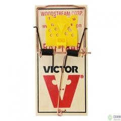 Механическая деревянная крысоловка Victor M205R