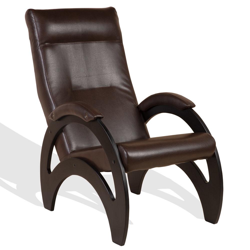 Кресла для отдыха Кресло Сальса Экокожа Chocolate bluz-otd-chocolate-1.jpg