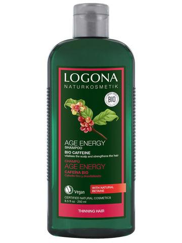 LOGONA, Шампунь для укрепления волос с Био-Кофеином, 250мл