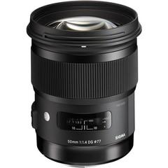 Объектив Sigma AF 50mm f/1.4 DG HSM Art Black для Nikon