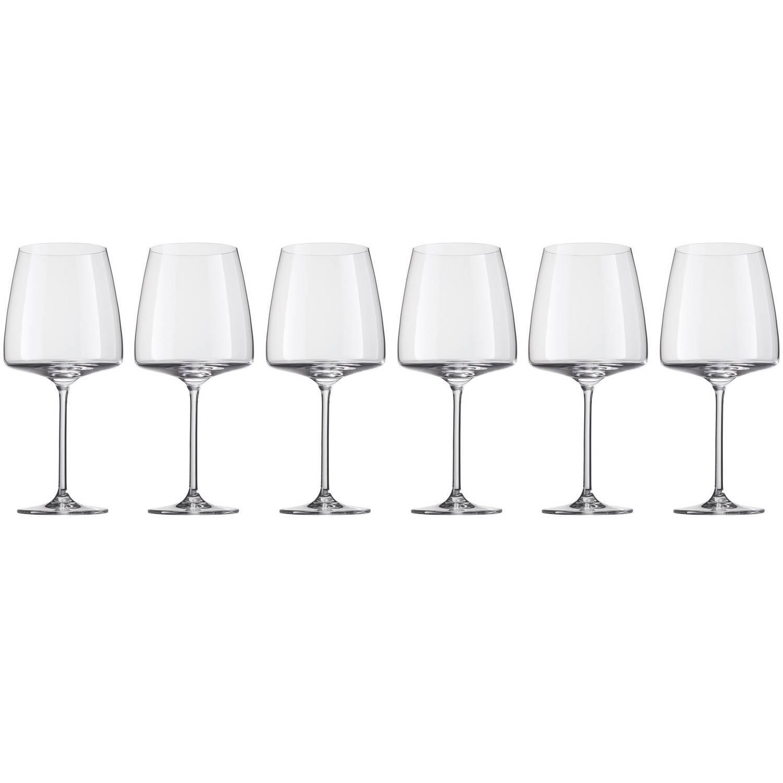 Фото - Набор бокалов для красного вина «Sensa», 710 мл набор бокалов для красного вина schott zwiesel prizma 561 мл 6 шт