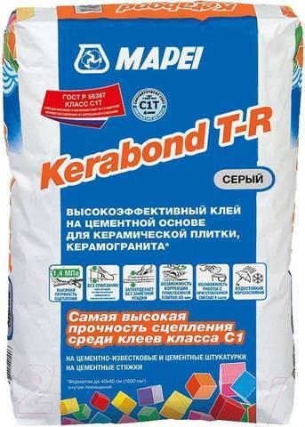 Клеевая смесь Kerabond TR серый 25кг