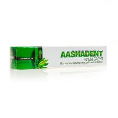 Зубная паста Ним-Бабул, 100 мл Aasha