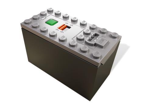 LEGO Education: Батарейный отсек AAA 88000 — Power Functions AAA Battery Box — Лего Образование Эдукейшн