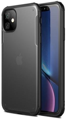 Тонкий чехол для iPhone 11 с черными рамками, серии Ultra Hybrid от Caseport